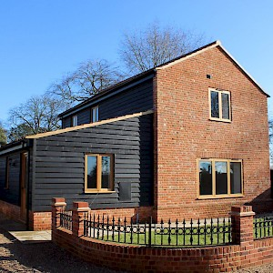 new build timber windows norfolk