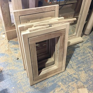timber windows ready for delivery in norfolk