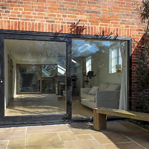 Wooden sliding door installation norfolk