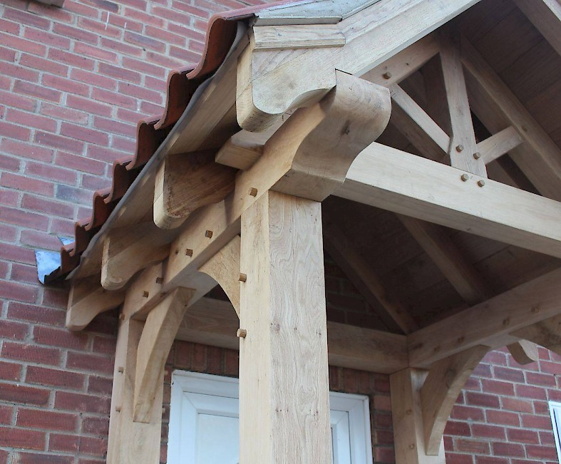 Bespoke Oak porches, Norfolk