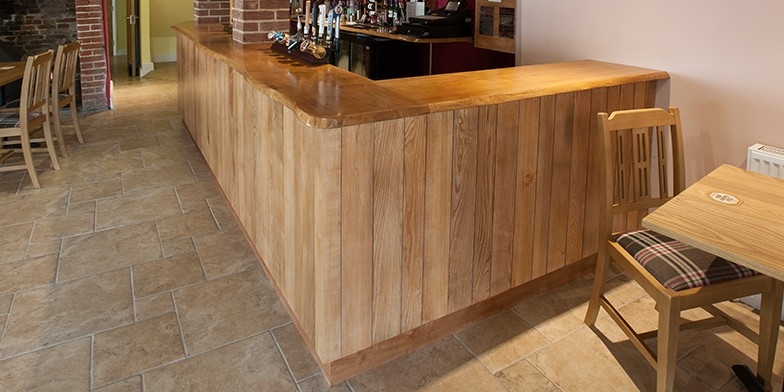 Oak Paneled Bar, Kings Head, Norfolk