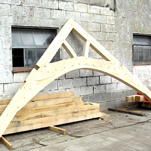 Oak trusses individually design 2